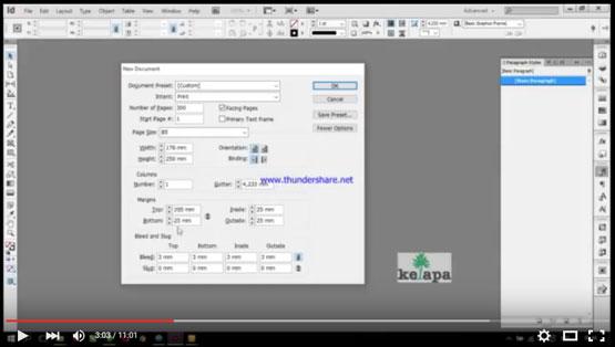 Tutorial Adobe InDesign, percetakan buku 081230618116, 03199022307, percetakan buku surabaya, percetakan kalender suirabaya, percetakan majalah surabaya, spesialis cetak buku, percetakan spesialis cetak majalah