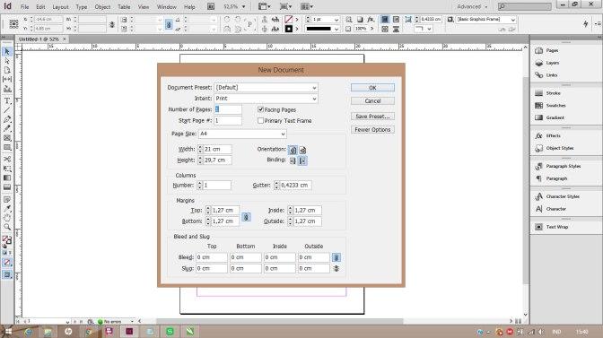 Tutorial Adobe InDesign: Cara Mengubah Satuan Ukuran | Raja Cetak Kalender