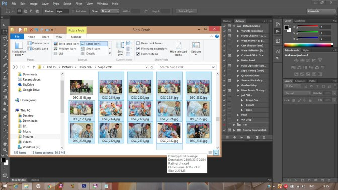 Tutorial Photoshop: Bekerja Cepat dengan Settingan Sama | Raja Cetak Kalender