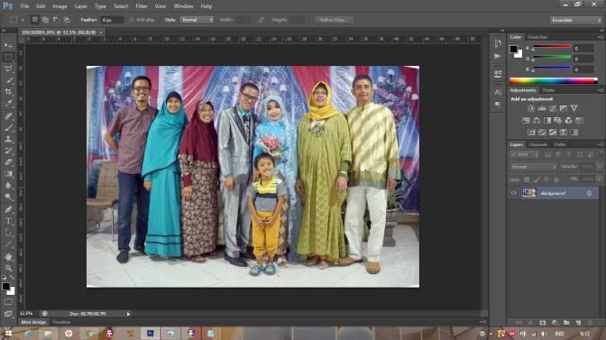 Tutorial Photoshop: Mengoreksi Gambar Terdistorsi