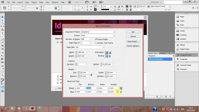 Step by step Membuat Buku (01): Menyiapkan Dokumen | Desainer Buku